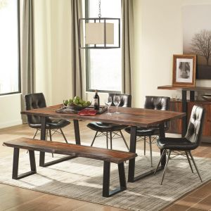 Jamestown 6 Pc Dining Collection 2 Chair Choices - Scott Living
