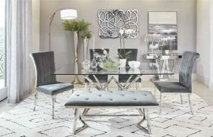 Beaufort 6 Pc Dining Collection - Glam & Bling