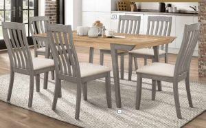 Nogales 7 Pc Dining Collection - Farmhouse Look
