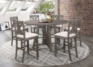 Athens Dining Collection - Table Converts Round to Square