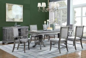 Darcy Dining Collection - Weathered Ash Finish
