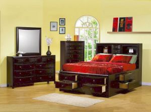 Phoenix Storage Bedroom Collection - 2 Finishes