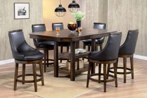 New Haven 7 Pc Dining Collection - Butterfly Leaf