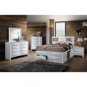 Ireland 8 Drawer Storage Bed - 4 Color Options