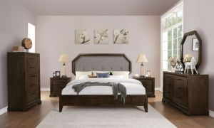 Selma Bedroom Collection - Tobacco Finish