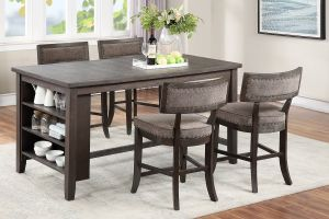 Talega 5 Pc Dining Collection - Solid Wood