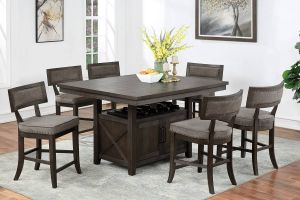Atlanta 7 Pc Dining Collection - Extension Leaf