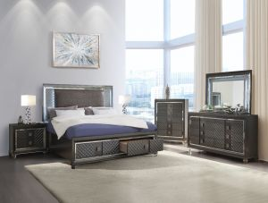 Sawyer Bedroom Collection - LED Headboard & Mirror