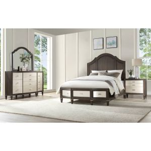 Peregrine Bedroom Collection - Walnut Finish