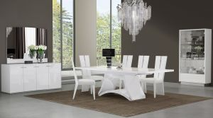Winter Dining Collection - White Contemporary
