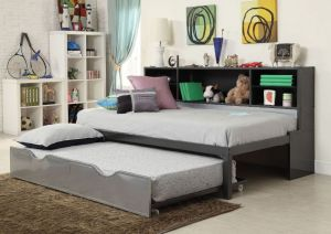 Renell Twin Daybed - Bookcase & Trundle