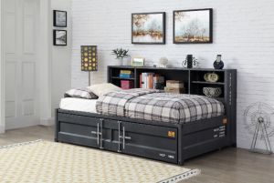 Cargo Storage Daybed w/Trundle - 2 Colors