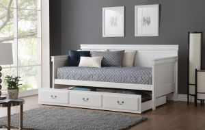 Bailee Daybed - White or Black Finish