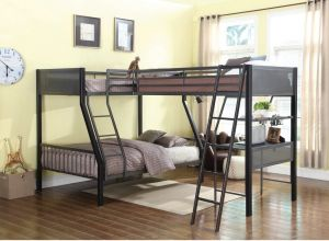 Myers Twin-Full Bunk Bed - Steel Construction