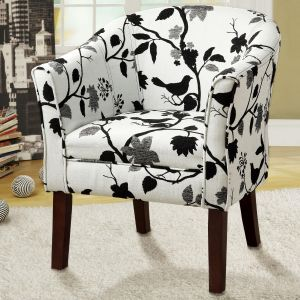 Accent Chair - Barrel Back