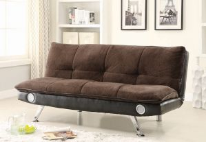 Odel Upholstered Sofa Bed - Bluetooth Speakers - 3 Colors