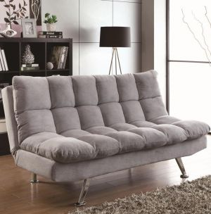 Futon Sofa Bed - Grey