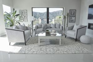 Whitfield Sofa Collection - Dove Grey Chenille