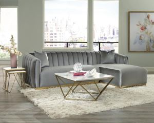 Grisby Sectional Collection - Modern Elegance