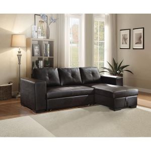 Lloyd Sectional Sofa w/Sleeper - Storage Chaise