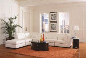 Quinn Sectional Collection - White