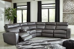 Samperstone 6 Pc Power Motion Sectional