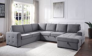 Napa Storage Sleeper Sectional Sofa