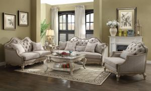 Chelmsford Sofa Collection - Antique Taupe Fabric