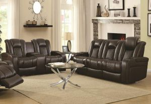 Delangelo Power Motion Sofa Collection - Brown or Black