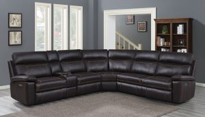 Albany Power Motion Sectional - Brown or Grey