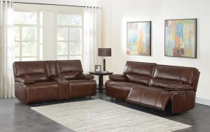 Southwick Power Motion Sofa Collection - Top Grain Leather