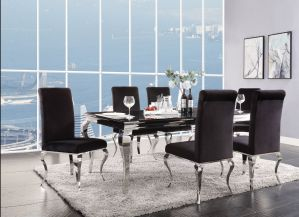 Fabriola Dining Collection - Stainless Steel