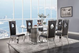 Cyrene Dining Collection - 3 Chair Options