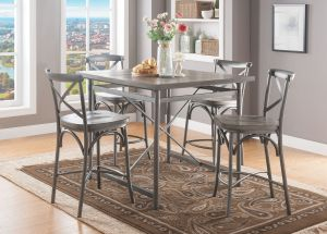 Kaelyn II Dining Collection - Gray Oak Finish