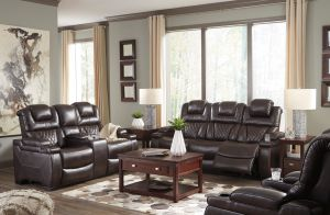 Warnerton Power Sofa Collection - Adjustable Headrest