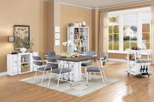 Cargo Dining Collection - White Finish