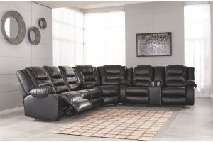 Vacherie Motion Sectional Collection - 3 Color Choices