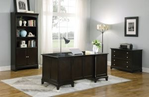 Garson Office Collection - Cappuccino Finish