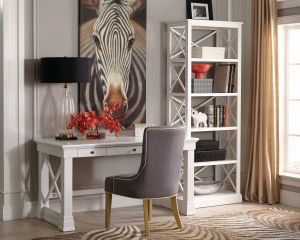 Johansson Office Collection - Antique White Finish