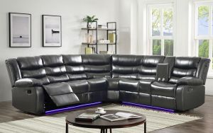 Maxwell Motion Sectional Collection LED - 3 Color Choices