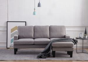 Reversible Sectional Sofa - 3 Colors