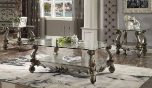 Versailles Occasional Table Collection - Glass Top