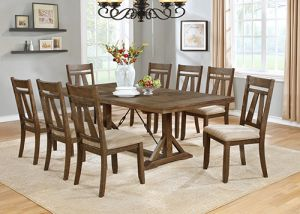 Jurupa 7-9 Pc Dining Collection - Extension Leaf