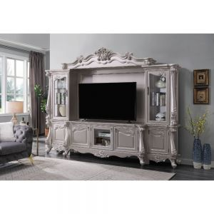 Bently Entertainment Center - Champagne Finish