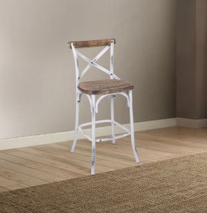 Zaire Pub Height Bar Stool - 6 Finishes