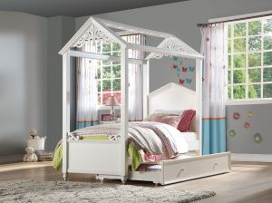 Rapunzel House Inspired Bed - Twin or Full