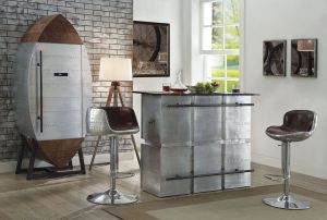 Brancaster Bar Collection - Black Marble Top