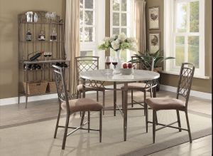 Aldric 5 Pc Round Dining Collection