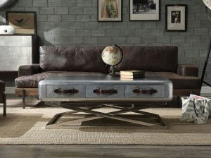 Silchester Coffee Table - Aluminum