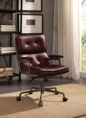 Office Chair - Top Grain Leather
